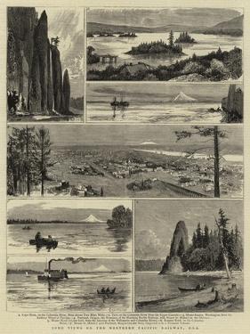 Some Views on the Northern Pacific Railway, Usa