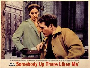 Somebody Up There Likes Me, Pier Angeli, Paul Newman, 1956