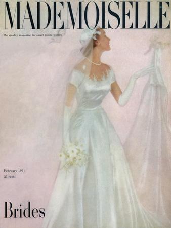 Mademoiselle Cover - February 1951