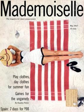 Mademoiselle Cover - May 1953 by Somoroff