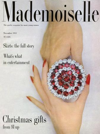 Mademoiselle Cover - November 1951