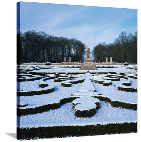 Somptuous Garden VIII--Stretched Canvas Print