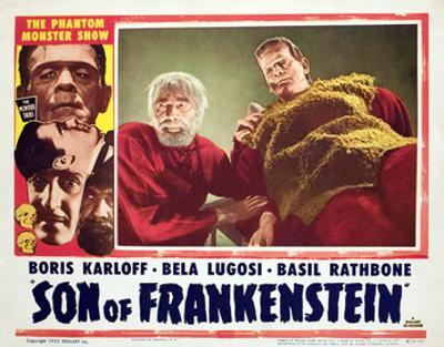 Son of Frankenstein, Bela Lugosi, Boris Karloff, 1939