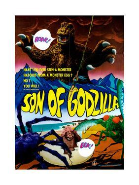 Son of Godzilla, (AKA Kaijuto No Kessen: Gojira No), 1967