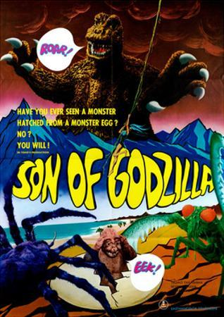 Son of Godzilla, (AKA Kaijuto No Kessen: Gojira No), 1967
