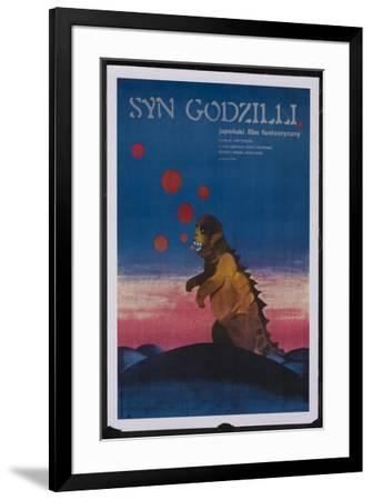 Son of Godzilla - Polish Style--Framed Poster
