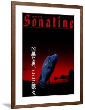 Sonatine - Japanese Style--Framed Poster