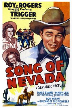Song of Nevada, Left from Top: Dale Evans, Mary Lee, Right: Roy Rogers, 1944