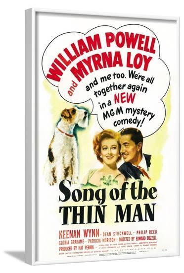 Song of the Thin Man--Framed Art Print