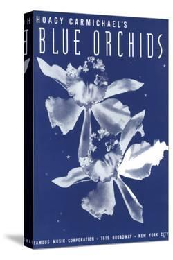 Song Sheet Cover: Hoagy Carmichael's Blue Orchids