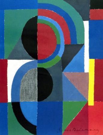 Viertel , 1968 by Sonia Delaunay-Terk