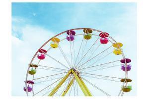 Summer Ferris Wheel 1 by Sonia Quintero