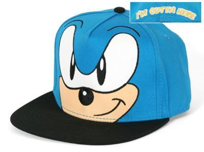 Sonic- I'm Outta Here Smirk Snapback