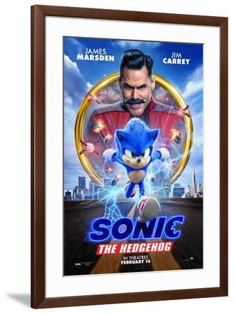Sonic the Hedgehog--Framed Art Print