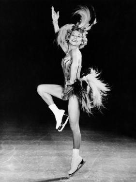 Sonja Henie Performing in Her Own Ice Show, Early 1950s