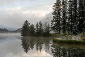 Two Jack Lake, Banff National Park, Canadian Rockies, Alberta Province, Canada by Sonja Jordan