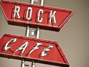Cafe Rock I by Sonja Quintero