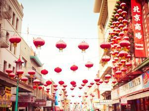 Chinatown Afternoon I by Sonja Quintero