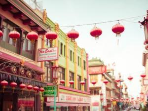 Chinatown Afternoon II by Sonja Quintero