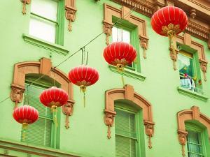 Lanterns In The Wind by Sonja Quintero