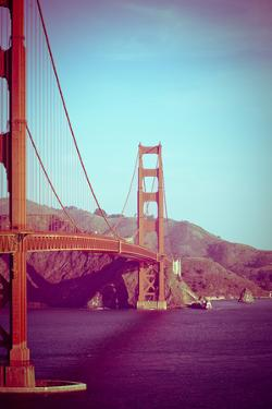 Retro Golden Gate by Sonja Quintero
