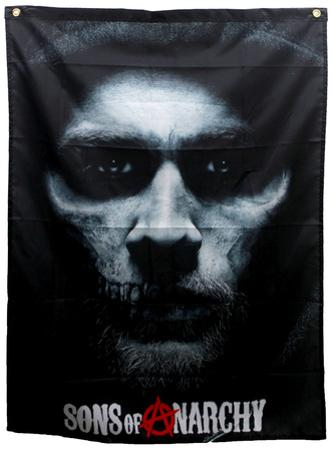 Sons of Anarchy - Jax Skull Banner