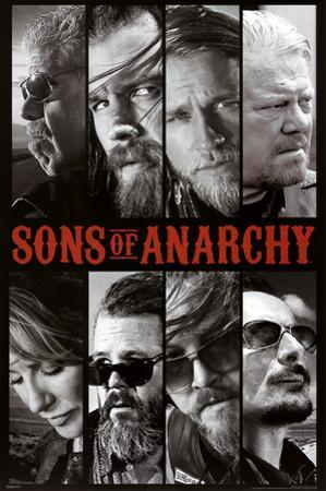 Sons of Anarchy Samcro TV Poster Print