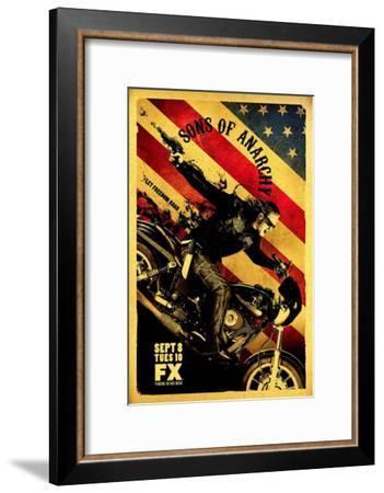 Sons of Anarchy--Framed Masterprint