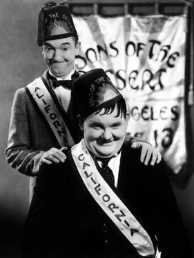 Sons of the Desert, Stan Laurel, Oliver Hardy, 1933