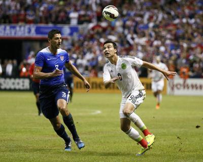 Soccer: Mexico Vs USA by Soobum Im