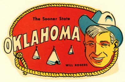 Sooner State, Will Rogers, Oklahoma