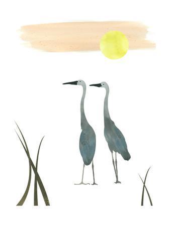 Birds in the Sun by sooyo