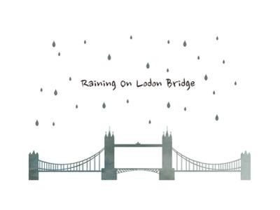 Raining on London Bridge by sooyo