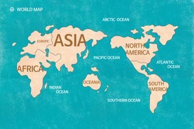 World Map by sooyo