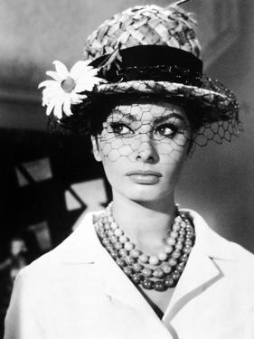 "Sophia Loren. ""The Millionairess"" 1960, Directed by Anthony Asquith"