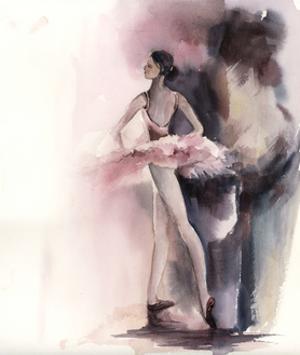 Ballerina Bliss IV by Sophia Rodionov