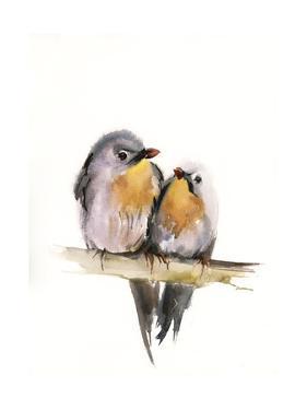Bird Couple by Sophia Rodionov