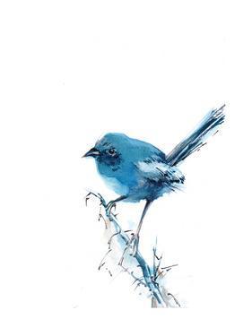 Blue Bird by Sophia Rodionov