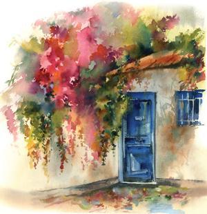 Blue Door by Sophia Rodionov