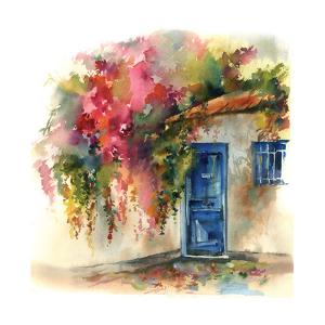 Blue Door by Sophia Rodionov