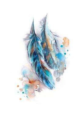Blue Feather by Sophia Rodionov