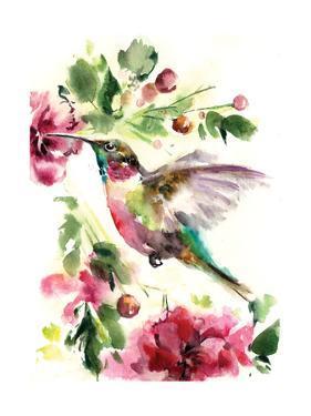 Hummingbird Joy by Sophia Rodionov