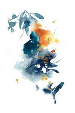 Midnight Blue and Orange by Sophia Rodionov