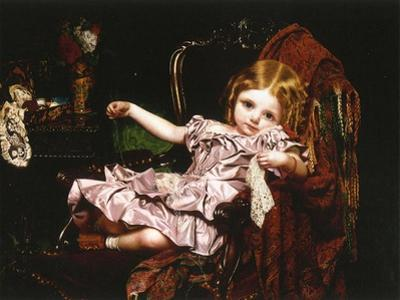 Young Girl in an Armchair, c.1850