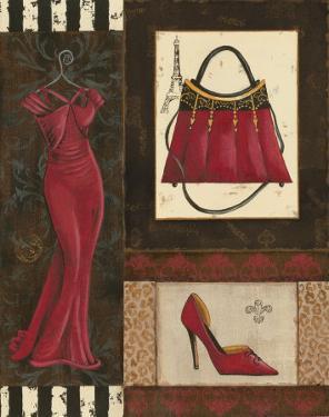 Fashion Collage I by Sophie Devereux