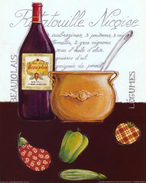 Ratatouille Nicoise by Sophie Hanin