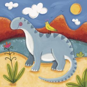 Baby Dippy The Diplodocus by Sophie Harding