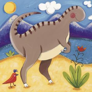 Baby Izzy the Iguanodon by Sophie Harding