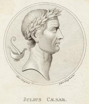 Gaius Julius Caesar Roman Emperor by Sophie Harding