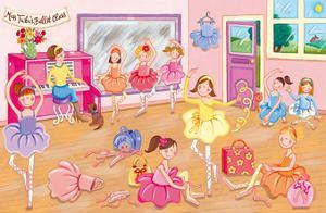 Miss Tutu's Ballet Class by Sophie Harding